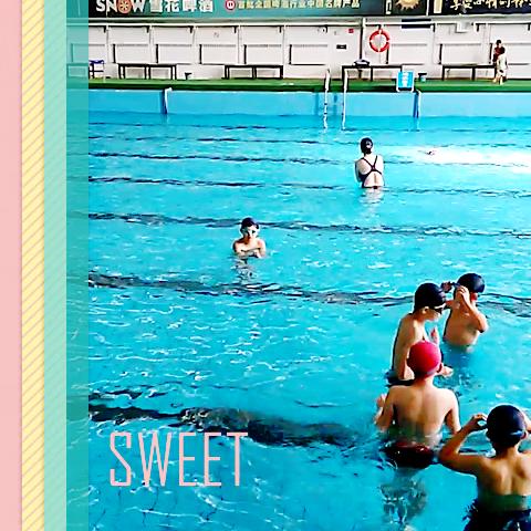 学会游泳啦