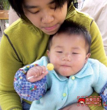 金东浩好吃的棒棒糖照片