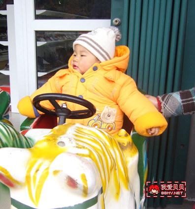 金东浩骑电动马日记照片