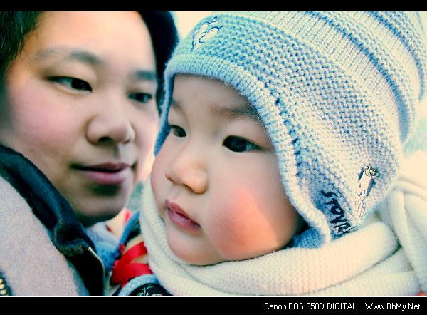 金东浩大年初一带东东出去玩日记照片