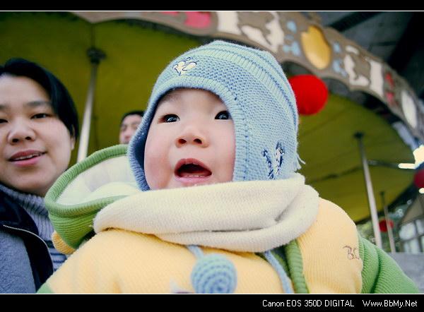 金东浩年初三东东妈咪说要带东东去公园日记照片