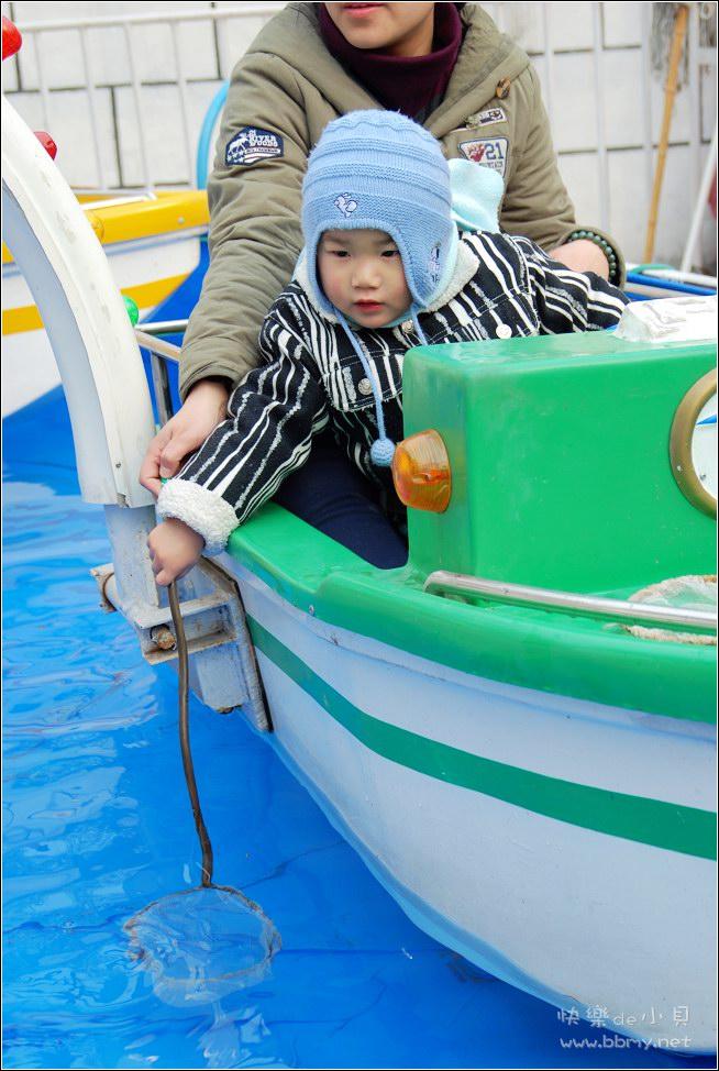 金东浩新年游公园照片