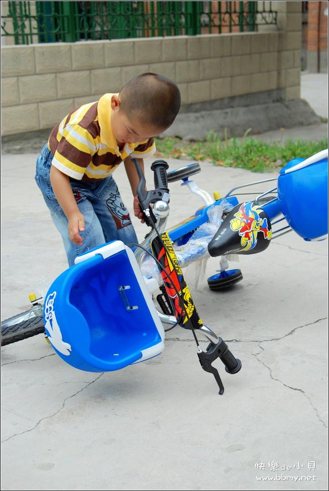 金东浩小自行车照片