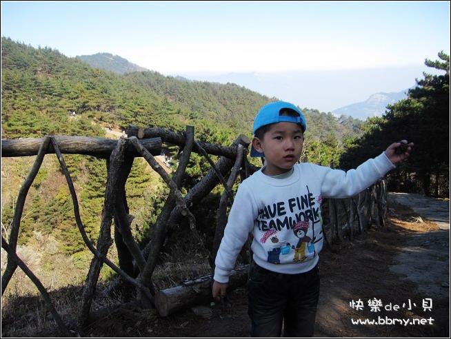 金东浩天堂寨二日游之上山照片