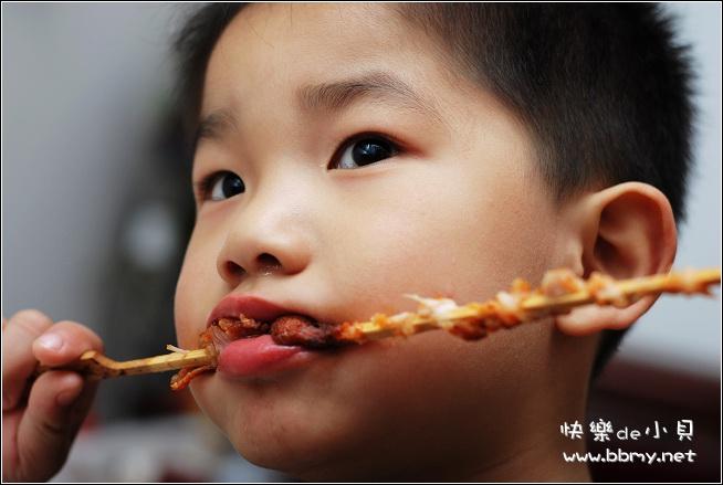 金东浩烤肉串照片