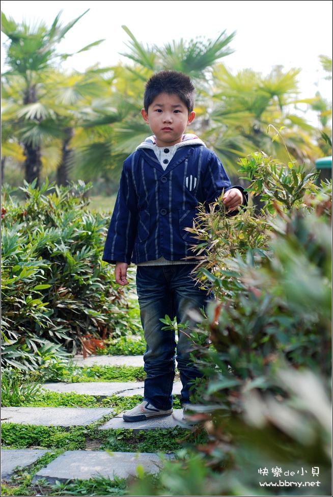 金东浩游新海公园之拍照姿势照片