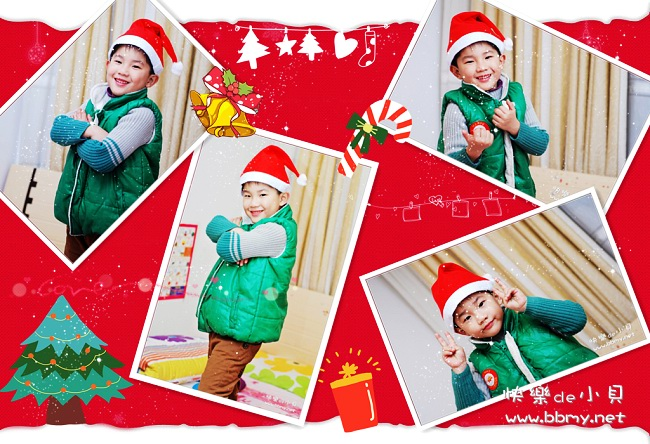 金东浩迎接圣诞节日记照片
