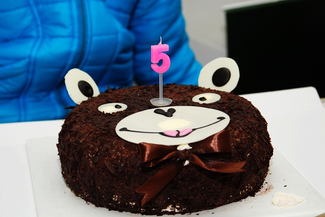 金东浩东东五周岁生日日记照片