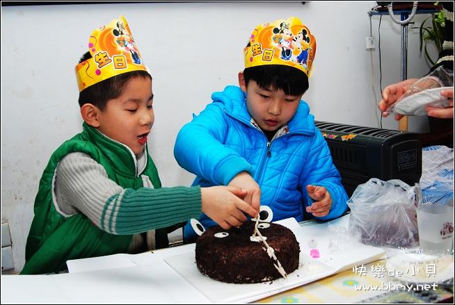 东东五周岁生日