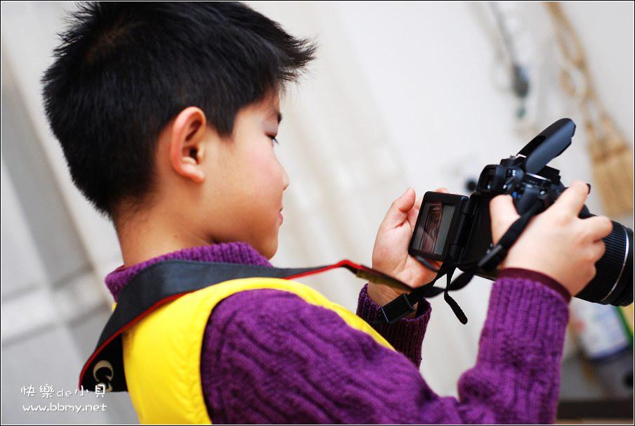 金东浩小小摄影师照片