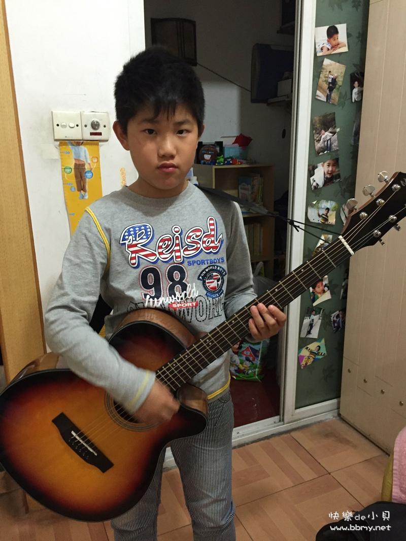 金东浩自做决定学吉他日记照片