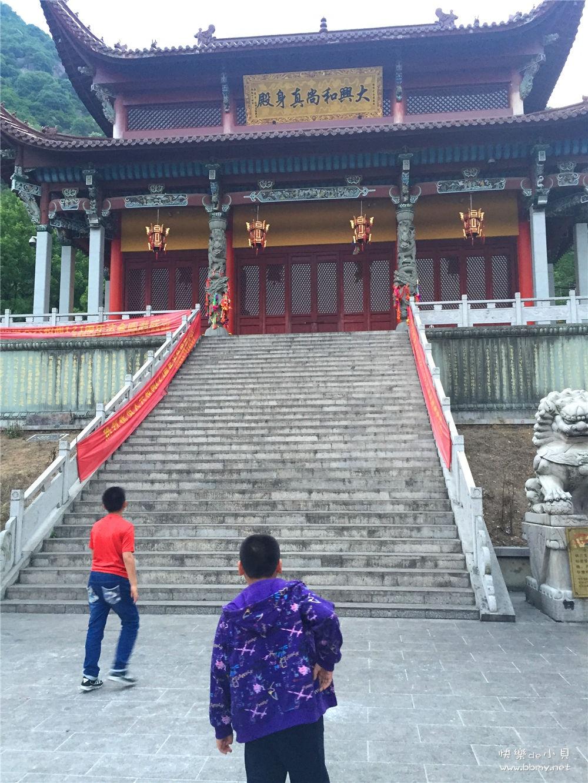 金东浩夜游九华山后山照片