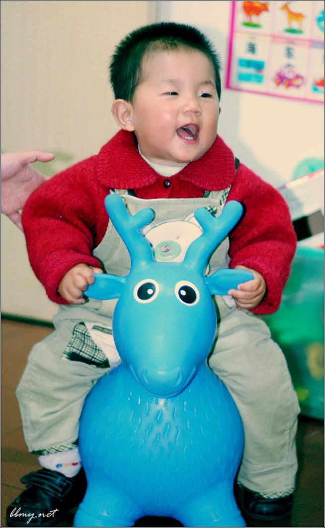 金东浩骑小鹿日记照片