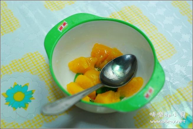 金东浩吃水果罐头日记照片
