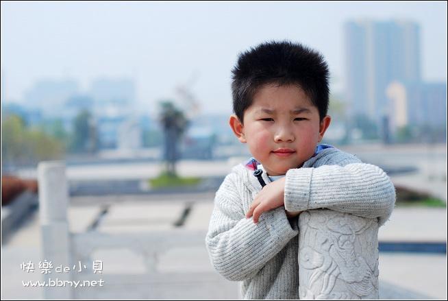 金东浩游新海公园之拍照姿势日记照片