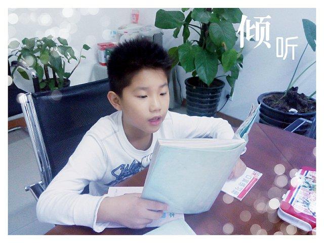 金东浩朗读课文日记照片