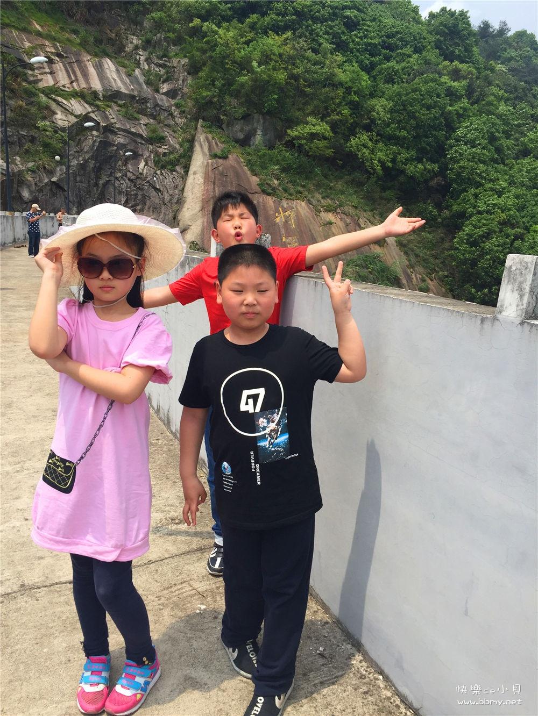 金东浩游玩将军湖日记照片